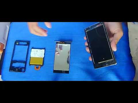 How to replace Sony Xperia Z1 LCD Touchscreen