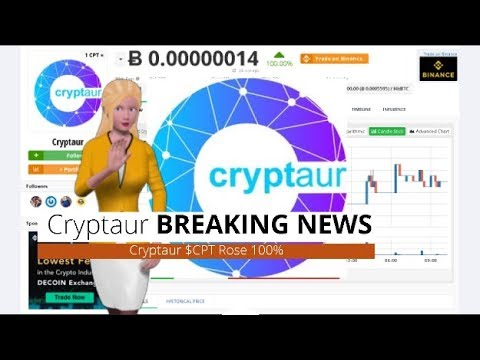 Cryptocurrency Cryptaur $CPT Soared 100% In the Past 24 Hours 5