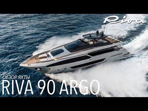 Обзор яхты Riva 90 Argo на Boot Dusseldorf
