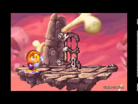 Gameplay ~ Rayman 3 [GBA/Eurasia-Hack] - Haunted Dreams #002