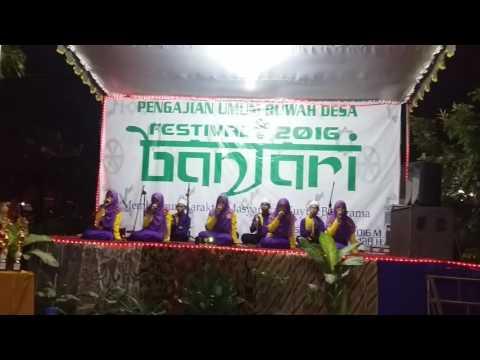 Amantu Billah Juara 1 Fesban Banjar Asri 2016