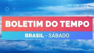 Previsão Brasil - Condições para chuva forte no ES