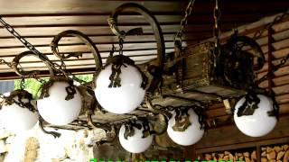 Оригинальная люстра бревно на цепях купить недорого Днепропетровск(, 2016-10-19T11:18:24.000Z)