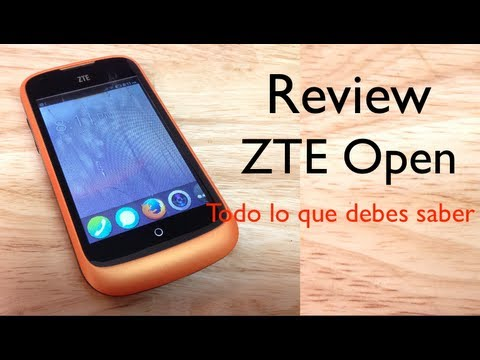 Review ZTE Open Firefox Análisis completo