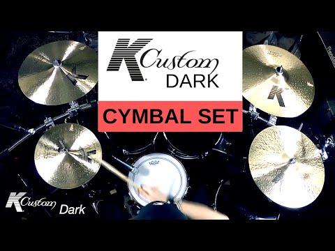 Zildjian - K Custom Dark Cymbal Set (Sound Demo)