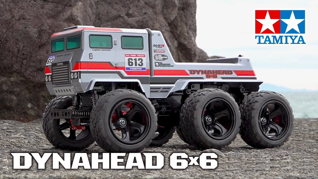 1/18 R/C Dynahead 6x6 (G6-01TR)
