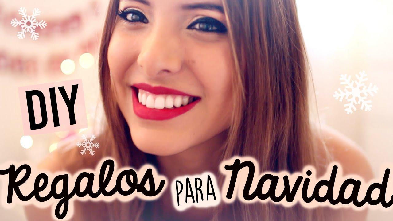 3 IDEAS DE REGALOS DIY PARA NAVIDAD | Valeria Basurco