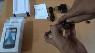 Lenovo A369i Unboxing(non voice) - Newly Launched