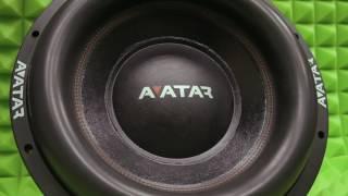 Огромный ход сабвуферов AVATAR!!! (SVL-15)