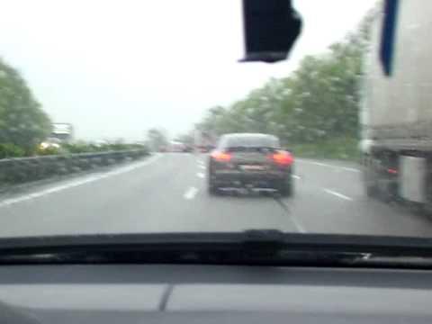Porsche Panamera Turbo az A6oson osonD  YouTube