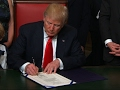 President Trump signs first law