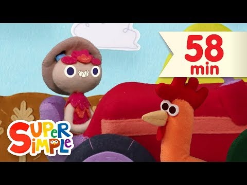 10 Little Tractors   + More Kids Songs   Super Simple Songs
