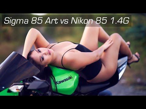 Sigma 85 1.4 Art vs Nikon 85 1.4G feat. Guam Model Alyssa French 4K