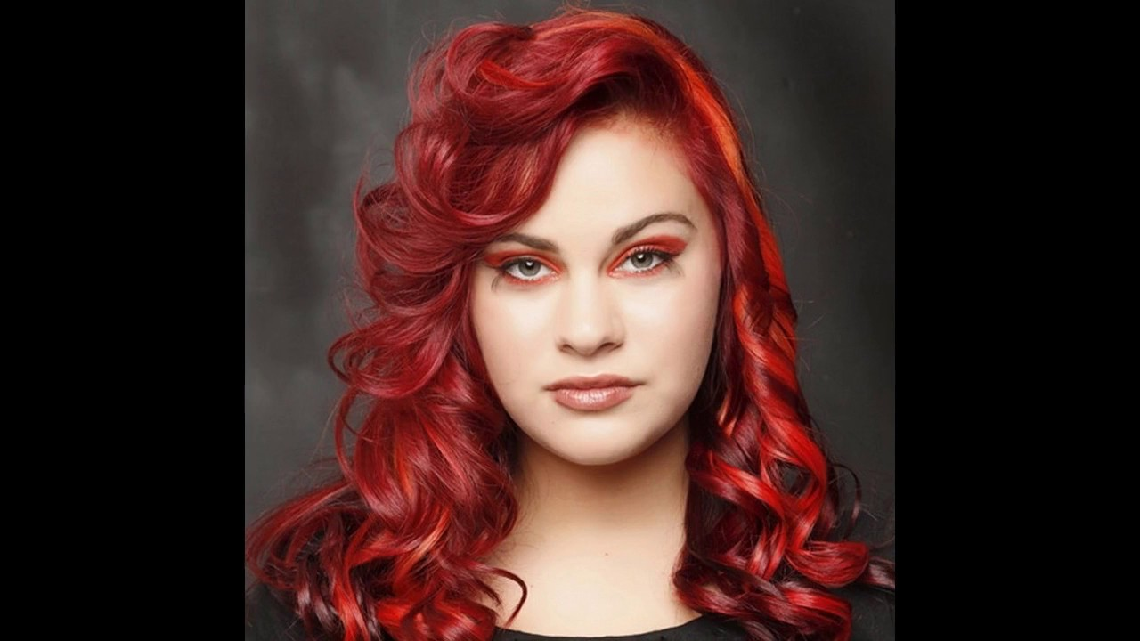 Bright Red Hair Color Ideas Youtube