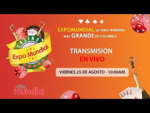 EXPO MUNDIAL 2017, COLOMBIA - AGOSTO 25/2017