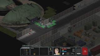 Panicked retreat INTO the alien vessel! (Xenonauts fail)
