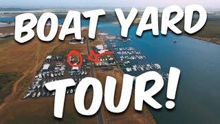 Bundaberg Port Marina Yard Tour - BUILDING BRUPEG (Ep. 17)