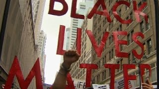 Hundreds Rally in NYC Against Police Shootings