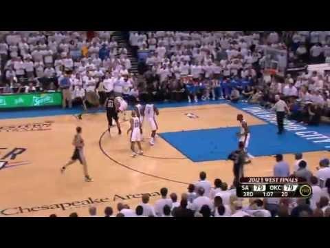 Oklahoma City Thunder vs San Antonio Spurs game 6 (2012 West Finals)