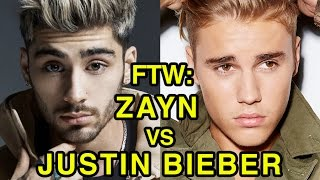 For The Win: Zayn vs Justin Bieber
