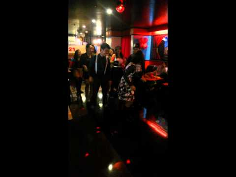 Dancing and grooving at Music 21 -  Alabang Branch