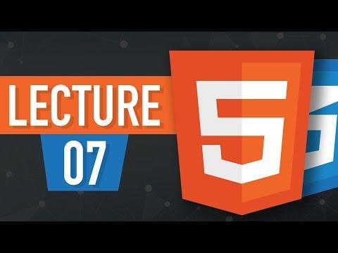 07 - LISTS In HTML5 - Learn HTML In Urdu & Hindi