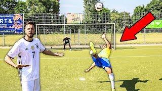 WM 2018 FUßBALL CHALLENGE vs CUBANITO mit BESTRAFUNG!!! Wakez