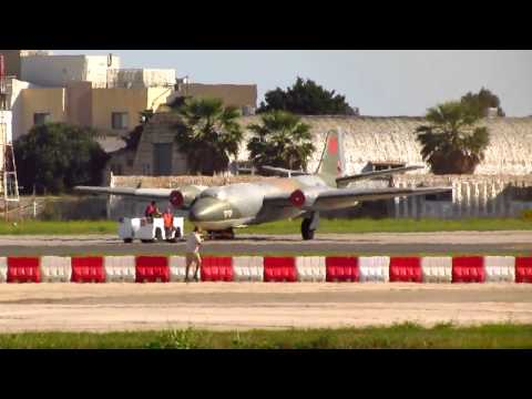 Malta International Airshow 2012 Arrivals.