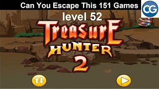 [Walkthrough] Can You Escape This 151 Games level 52 - Treasure hunter 2 - Complete Game