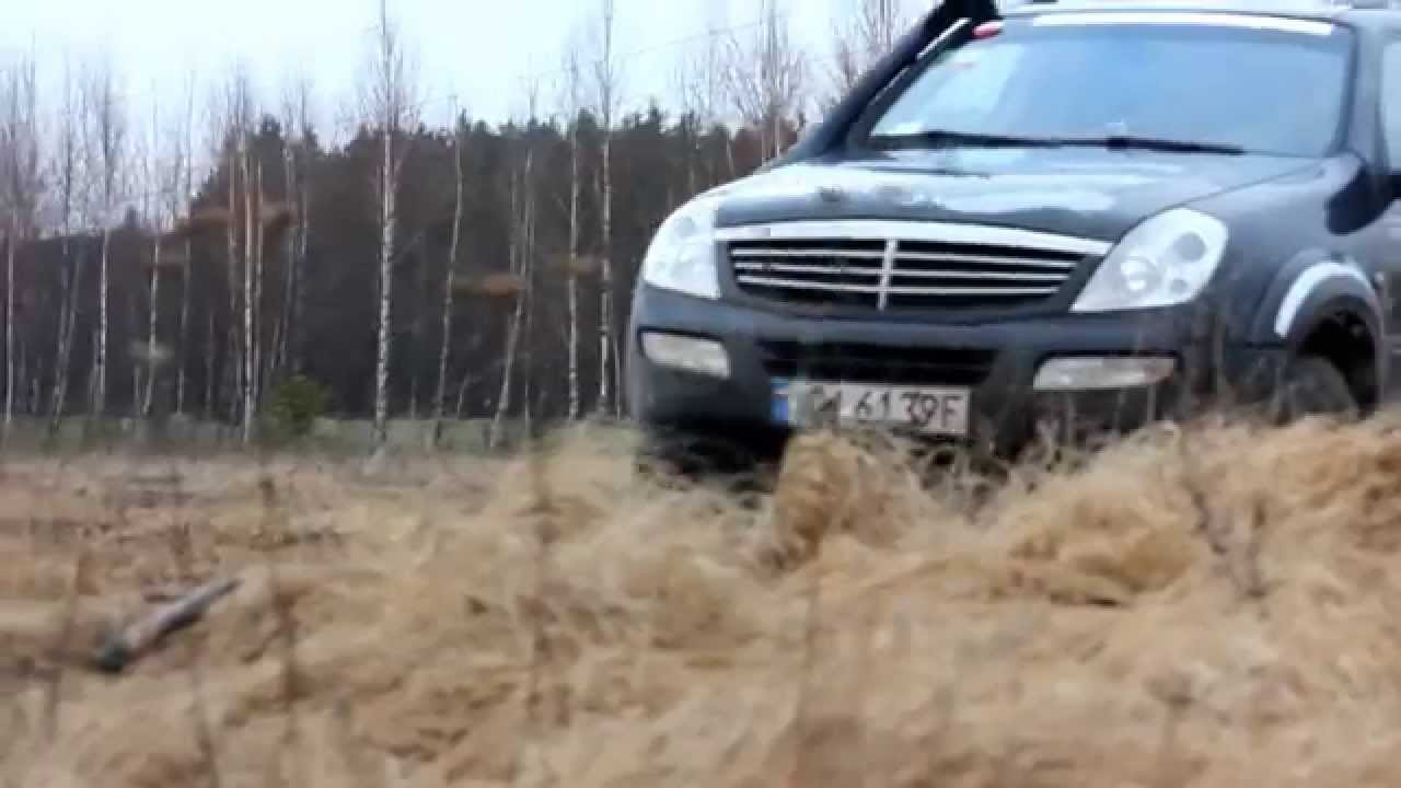 ssangyong rexton 2 7 xdi off road youtube. Black Bedroom Furniture Sets. Home Design Ideas