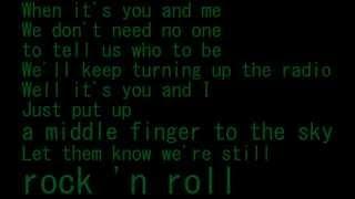 AVRIL LAVIGNE ROCK N ROLL Lyric + FREE DOWNLOAD mp3