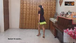 Slow Hand Line Dance Demo by Adeline Cheng (Nuline Dance Malaysia)