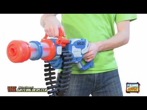 Prime Time Toys DartZone Gatling Blaster YouTube