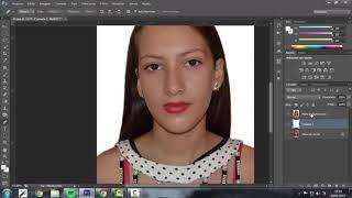 Foto 3x4 no Photoshop