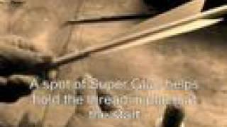 Making Replica Medieval Arrows - Video 8