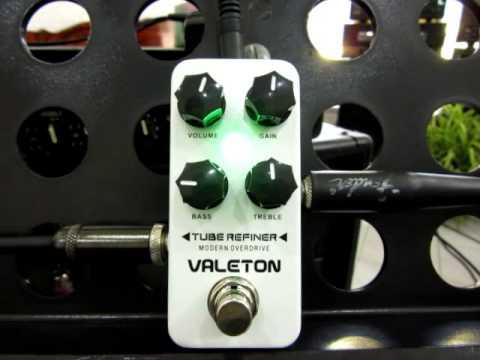Valeton Tube Refiner Modern Overdrive Guitar Effect