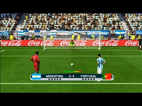ARGENTINA vs PORTUGAL | Penalty Shootout | PES 2017 Gameplay