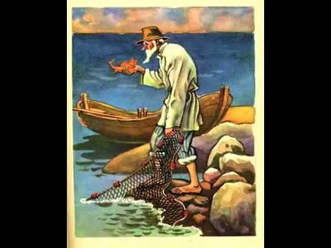 СЛУШАТЬ Детские сказки - Сказка о рыбаке и рыбке