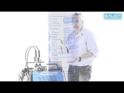 Inbetriebnahme - BAUER JUNIOR II Kompressor