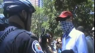 G20 Officer Gets Owned