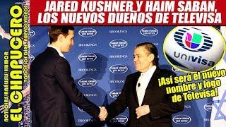 ¡ADIÓS! Azcárraga vende Televisa a millonario israelí y al yerno de Trump