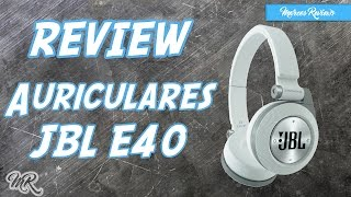 Auriculares JBL E40 Bluetooth | Review en Español | Marcos Reviews