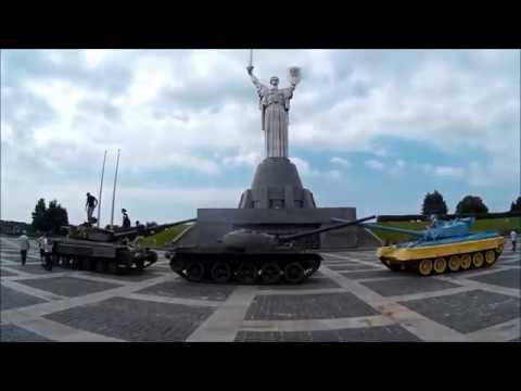 Exploring Ukraine by car. Visiting Kiev and Lviv.