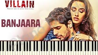 Download Hindi Video Songs - Banjaara (Ek Villain) Piano Tutorial ~ Piano Daddy