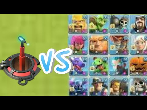 Doom Cannon  VS. all troop's in clash of clans and clash Royale🔥