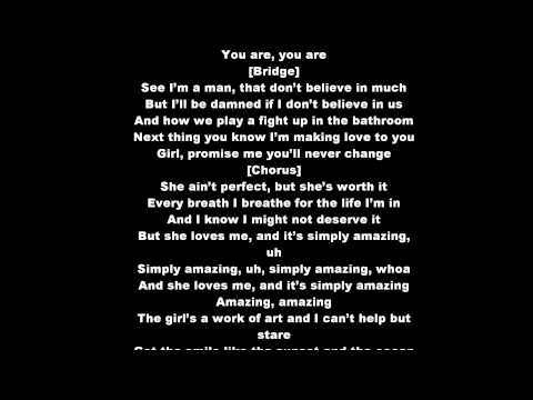 Trey Songz Simply Amazing Lyrics