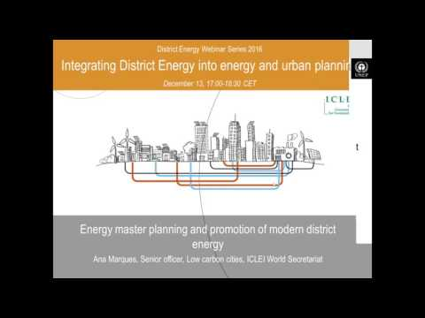 Integrating DES into energy and urban planning