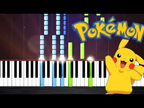 Pokemon Theme - Piano Tutorial by PlutaX