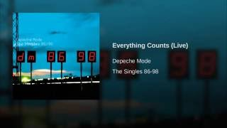 Everything Counts (Live)