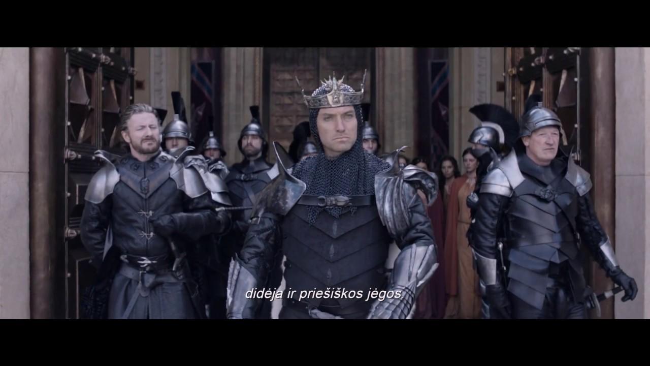 KARALIUS ARTŪRAS: KALAVIJO LEGENDA - naujausias kultinio režisieriaus Guy Ritchie filmas